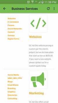 OC Ad Site apk screenshot