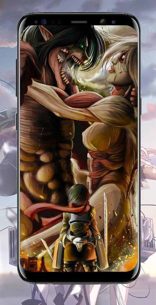 Attack Titan Wallpaper For Android Apk Download