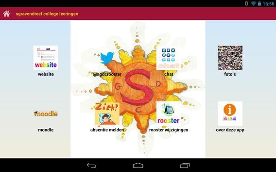 Sgdc leerlingen app beta poster