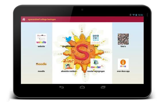 Sgdc leerlingen app beta screenshot 1