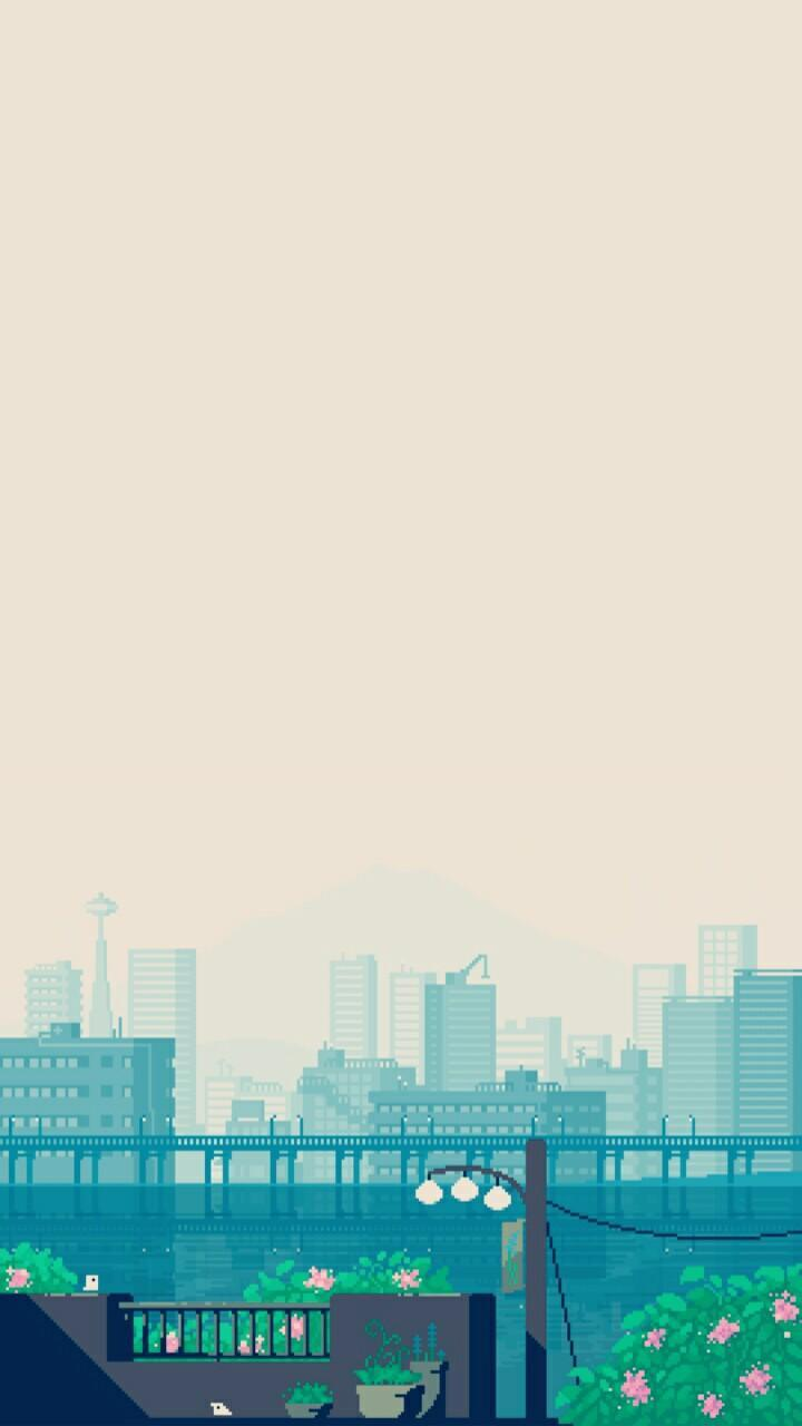Pixel Art Landscape Wallpaper For Android Apk Download