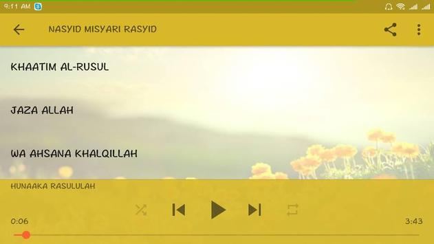 NASYID ISLAMIC apk screenshot