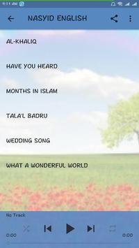 NASYID ISLAMIC poster