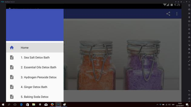Detox Baths apk screenshot