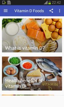 Vitamin D Foods screenshot 14