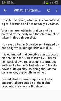 Vitamin D Foods screenshot 2