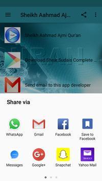 Online Qur'an MP3 by Ahmad Al ajamy apk screenshot
