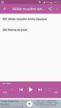 Akidar musulmi-Aminu Daurawa Mp3 Offline apk screenshot