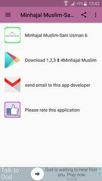 Minhajal Muslim-Sheik Sani UsmanKurna 6 apk screenshot
