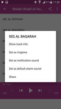 Shiekh Khalil Al Husary-Qur'an Mp3 screenshot 7