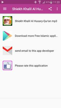 Shiekh Khalil Al Husary-Qur'an Mp3 screenshot 4