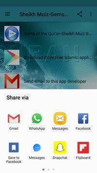 Sheikh Muiz Bukhary-Gems of the Qur'an apk screenshot