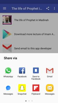 The life of Prophet in Madinah by Anwar Al-Awlaki apk screenshot