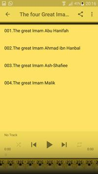 The four Great Imam of Islam screenshot 7