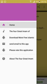 The four Great Imam of Islam screenshot 5