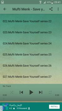 Dr Mufti Ismail Menk - Save yourself apk screenshot
