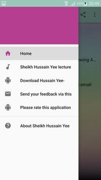 Sheikh Hussain Yee lecture complete lecture apk screenshot