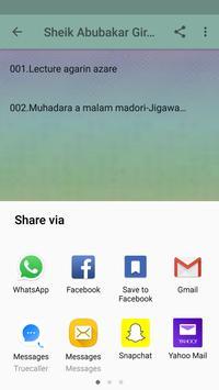Sheik Abubakar Giro Argungu apk screenshot
