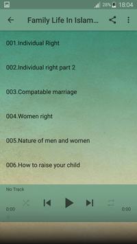 Fiqh of Love - Marriage in Islam online Mp3 apk screenshot