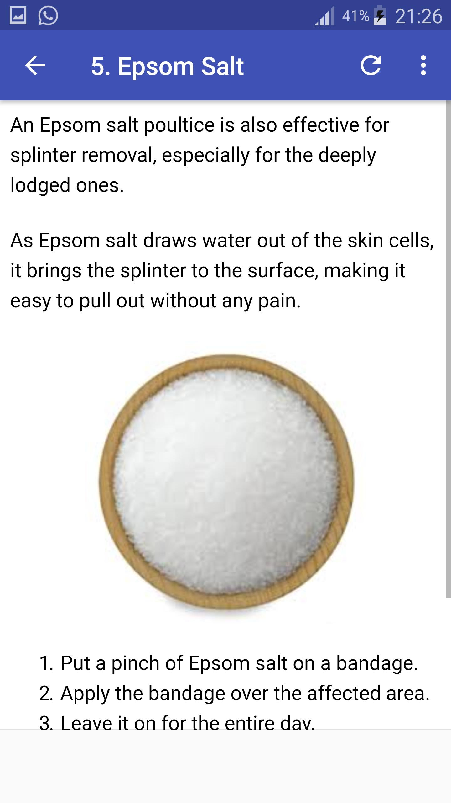 How to remove splinter safely at Home for Android - APK Download