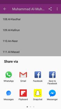 Muhammad Al-Muhsny  Full Offline Qur'an Mp3 apk screenshot