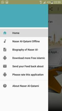 Nasser Al Qatami full offline Qur'an MP3 apk screenshot