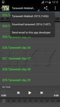 Taraweeh Makkah 2015 (1436) apk screenshot