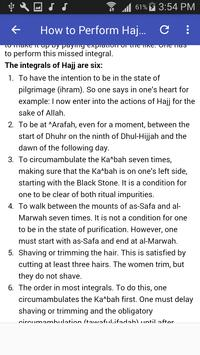 How to Perform Hajj & Umrah (Hajj & Umrah Guide) screenshot 3
