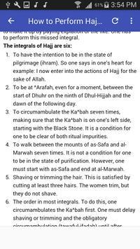 How to Perform Hajj & Umrah (Hajj & Umrah Guide) apk screenshot