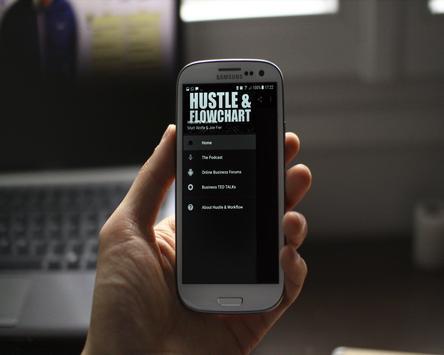 Hustle & Flowchart Podcast apk screenshot