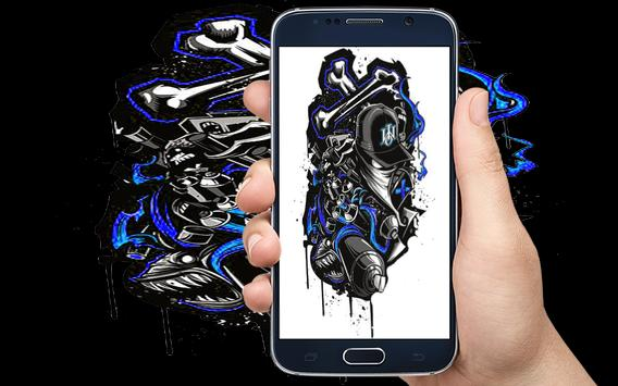 Graffiti Wallpaper apk screenshot
