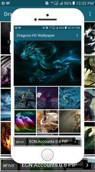 Dragons Wallpaper apk screenshot