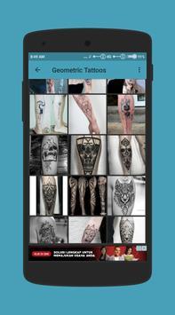 Geometric Tattoo Design screenshot 2