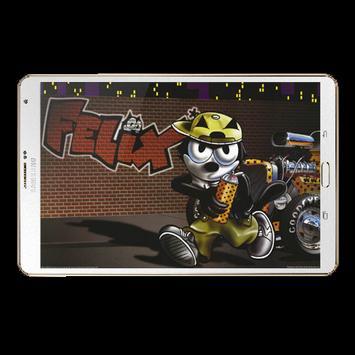 Felix Cat Wallpaper screenshot 4