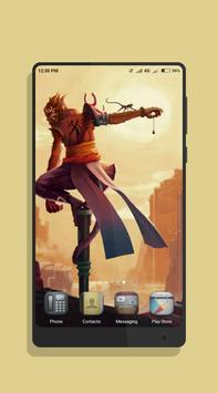 Monkey King Wallpaper poster