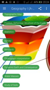 Geography I (A- level ) poster