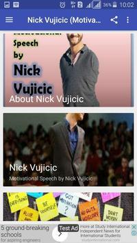 Nick Vujicic (Motivation) screenshot 1