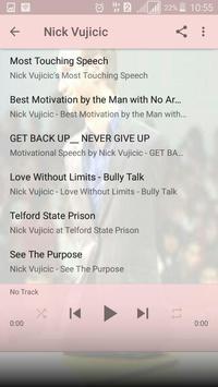 Nick Vujicic (Motivation) screenshot 5
