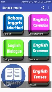 Belajar Bahasa Inggris Percakapan Sehari Hari poster
