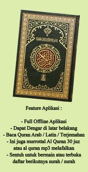 Quran Latin Terjemahan screenshot 1