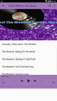 Best The Weeknd Starboy Songs apk screenshot