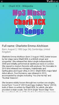 Mp3 Music - Charli XCX - All Songs screenshot 2