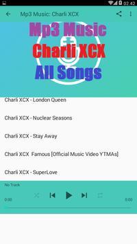Mp3 Music - Charli XCX - All Songs apk screenshot