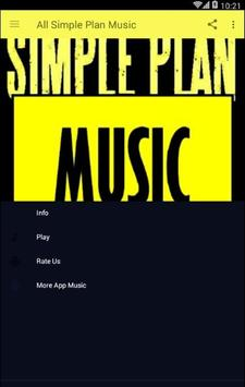 All Simple Plan Music poster