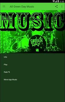 All Green Day Music poster