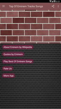 Top Of Eminem Tracks Songs For Android Apk Download