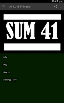 All SUM 41 Music poster