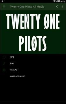 Twenty One Pilots All Music poster
