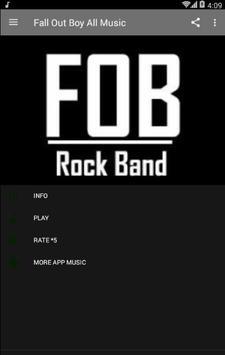 Fall Out Boy All Music apk screenshot