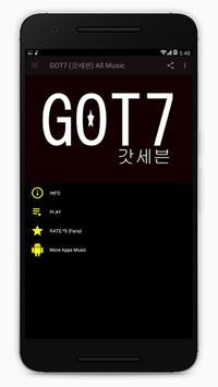 GOT7 (갓세븐) All Songs apk screenshot